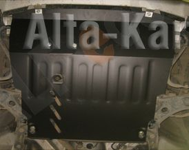 Защита Alfeco для картера и АКПП Toyota Passo Sette 2WD 2009-2012. Артикул ALF.24.70
