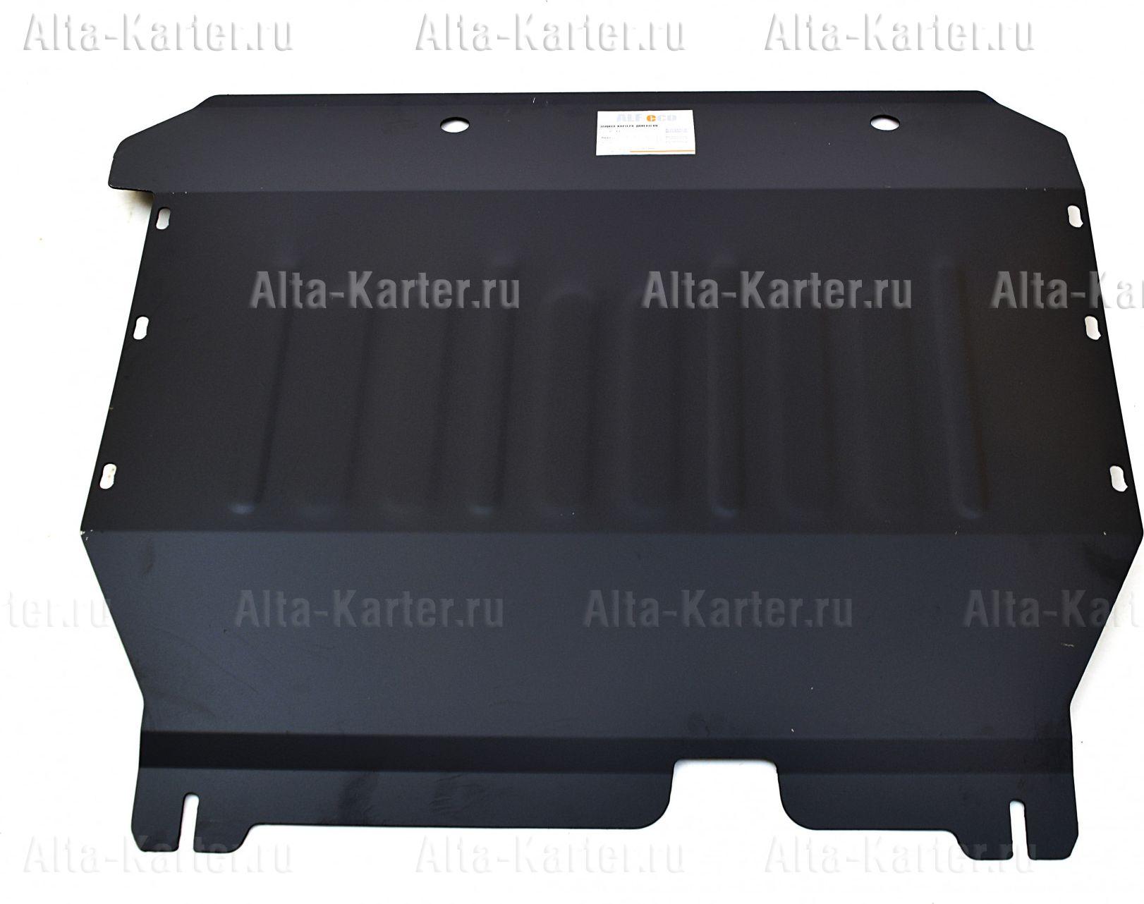 Защита Alfeco для картера и КПП Ford Transit задний привод 2006-2012. Артикул ALF.07.11