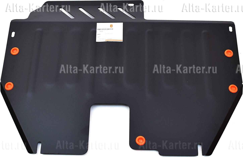 Защита Alfeco для картера и КПП Nissan Murano Z50 2003-2008. Артикул ALF.15.52