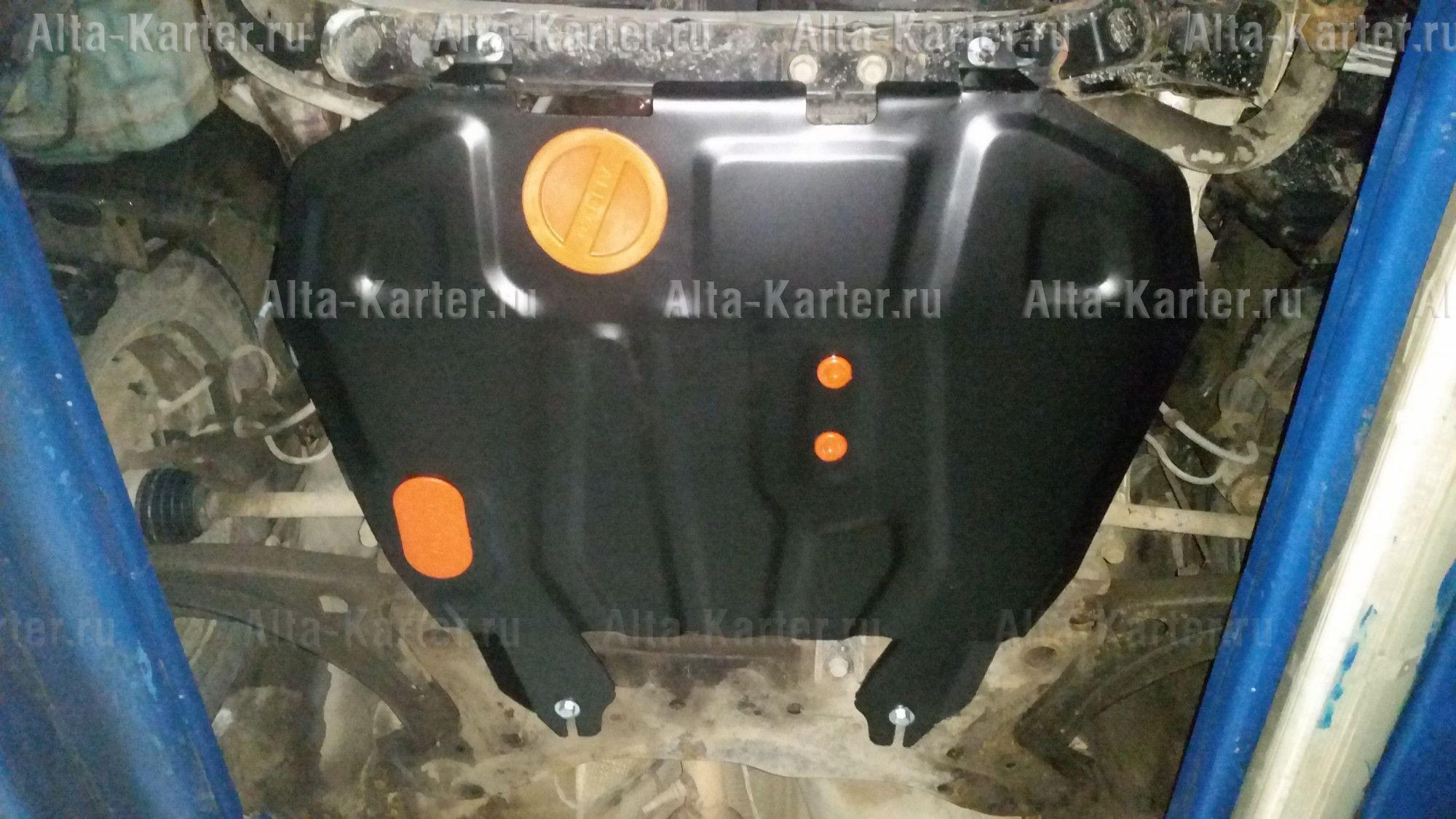 Защита Alfeco для картера и КПП Mitsubishi ASX 2010-2021. Артикул ALF.14.02