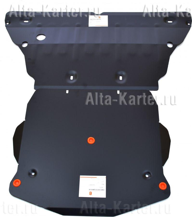 Защита Alfeco для картера и КПП Audi A4 B9 2015-2021. Артикул ALF.30.42