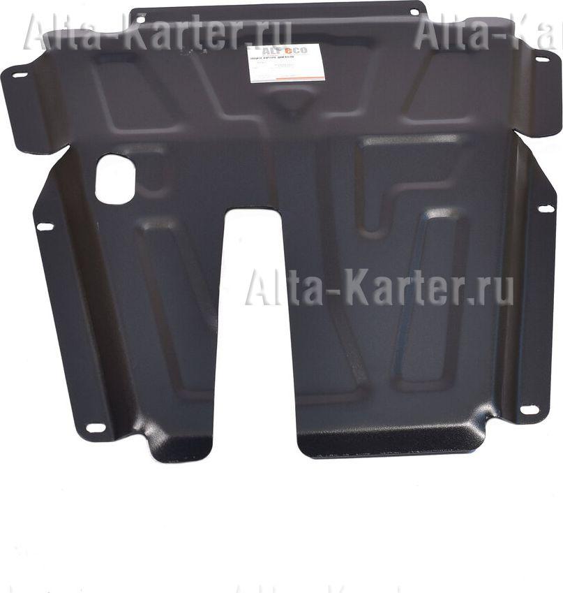 Защита Alfeco для картера и КПП Renault Logan II 2014-2021. Артикул ALF.18.02