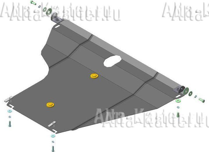 Защита Мотодор для двигателя и КПП BYD F3 седан 2005-2021.Артикул 64501. Артикул 64501