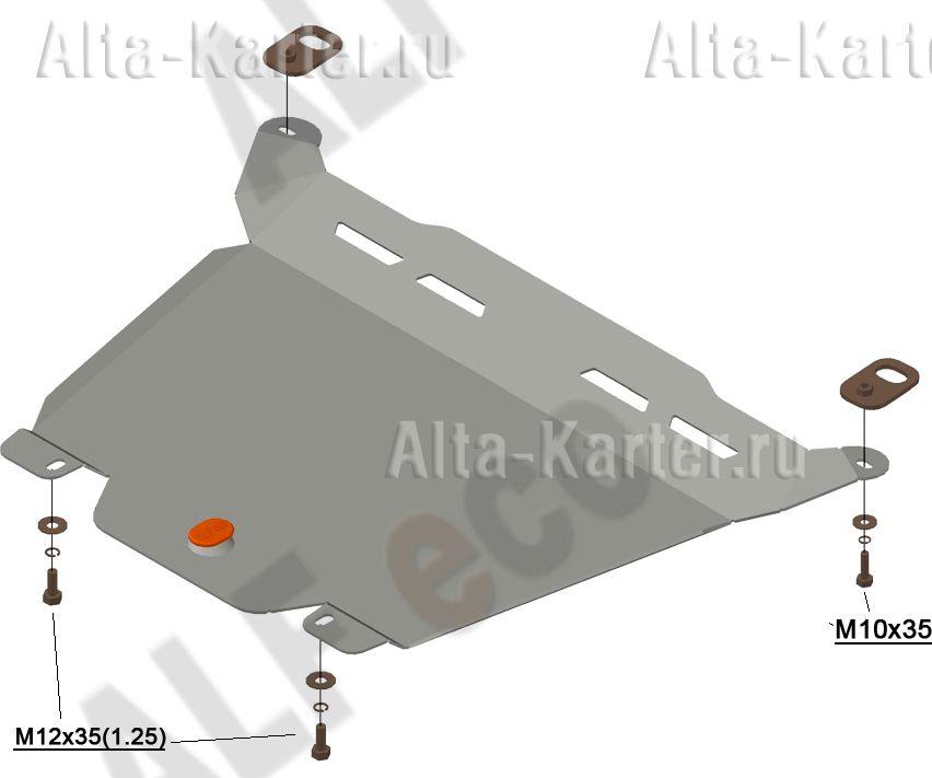 Защита Alfeco для картера и КПП Honda CR-V IV 2012-2018. Артикул ALF.09.32