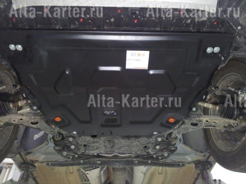 Защита Alfeco для картера и КПП Ford Kuga II 2013-2021. Артикул ALF.07.32