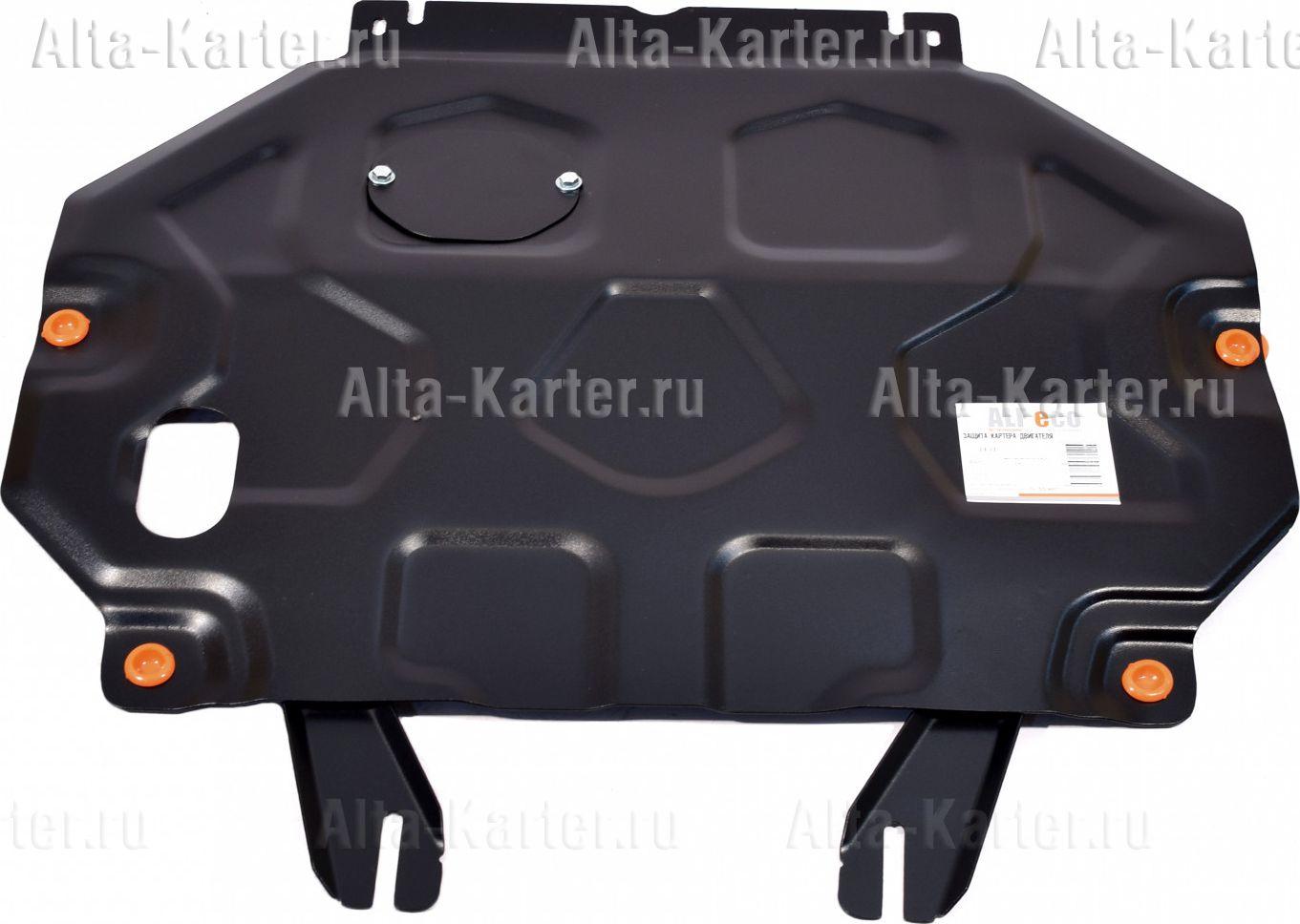 Защита 'Alfeco' для картера и КПП Mitsubishi Eclipse Cross 2018-2021. Артикул ALF.14.31