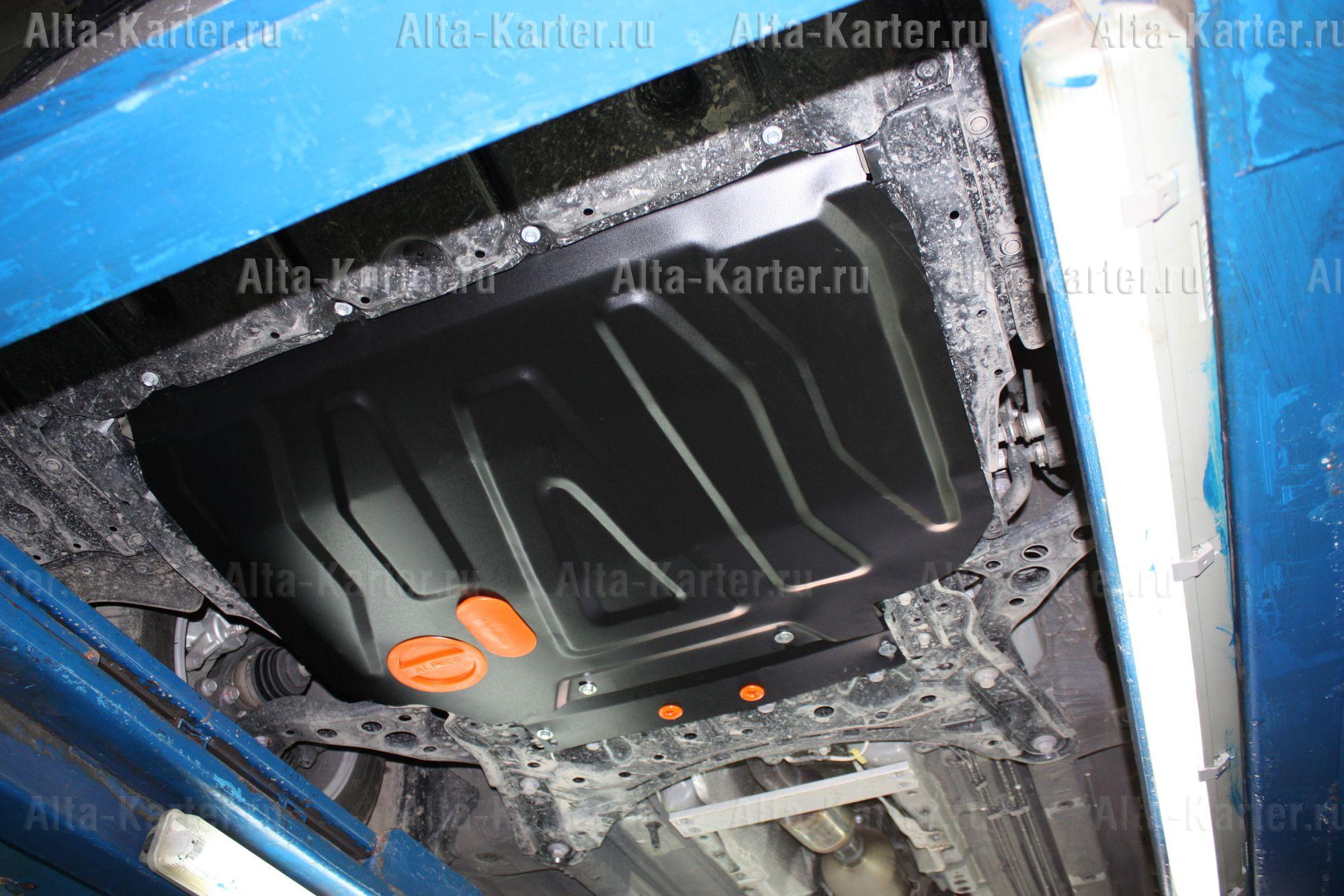 Защита Alfeco для картера и КПП Toyota Corolla E210 2018-2021. Артикул ALF.24.114
