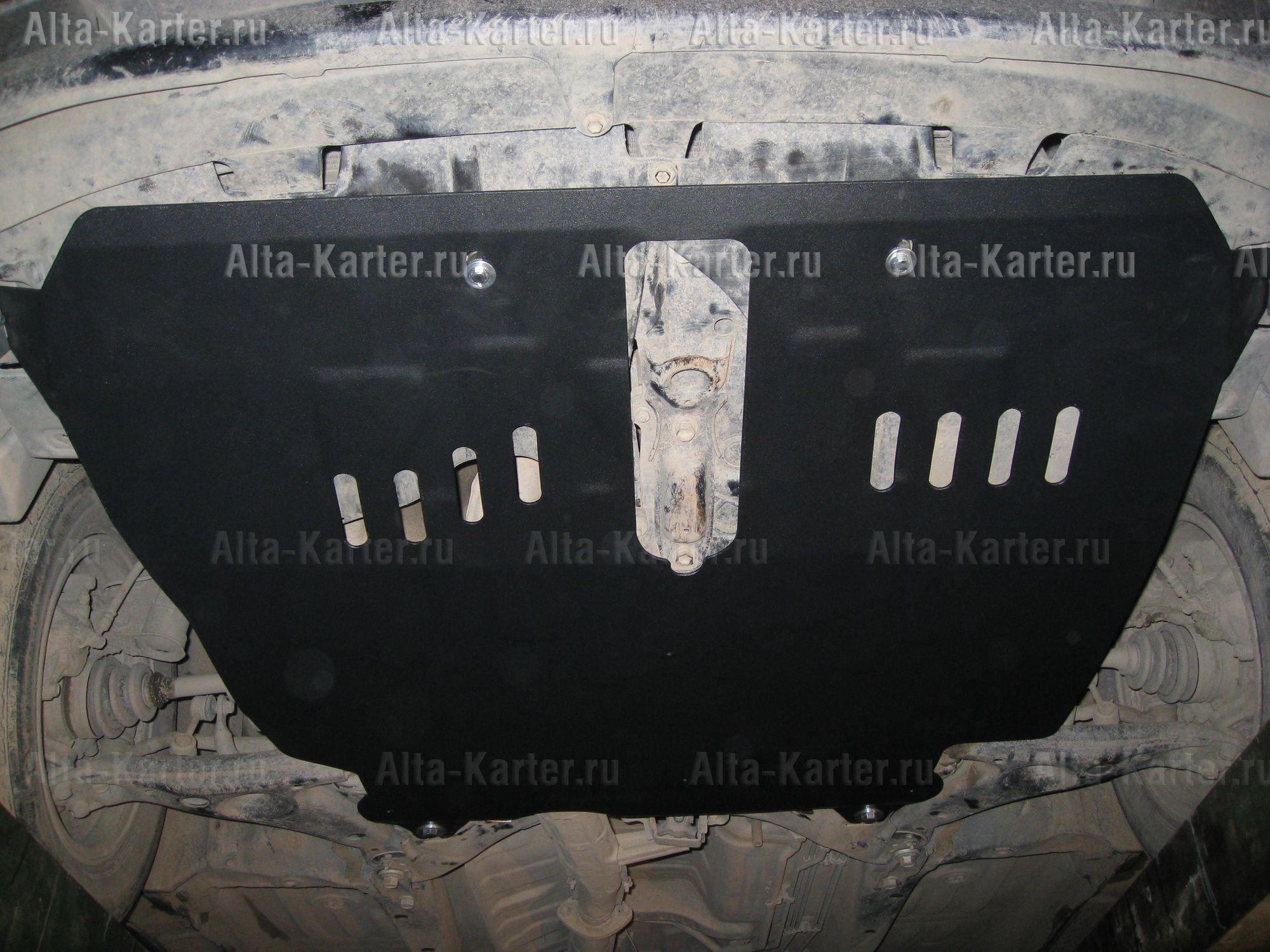 Защита Alfeco для картера и КПП Toyota Ipsum I 1996-2001. Артикул ALF.24.31