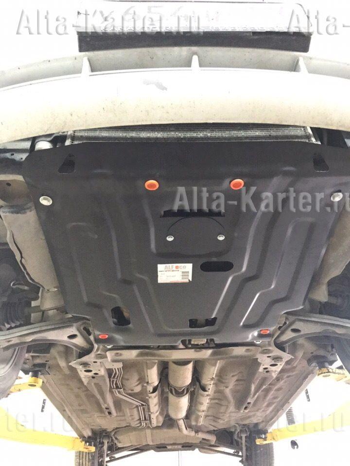 Защита Alfeco для картера и КПП Chevrolet Lacetti 2004-2013. Артикул ALF.03.05 st