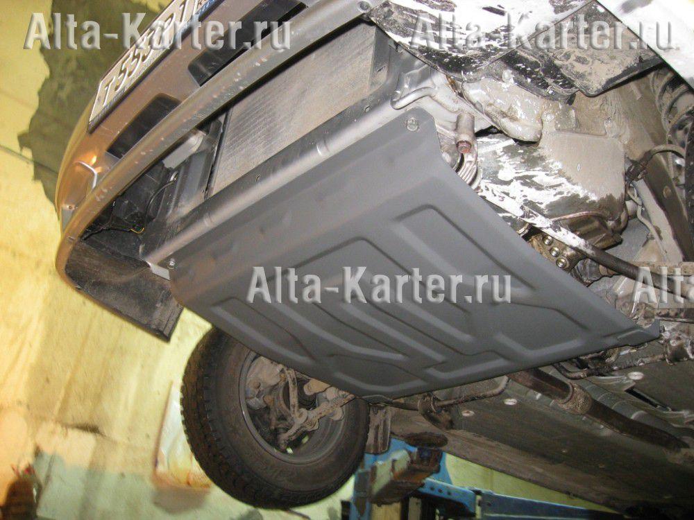 Защита Alfeco для картера и КПП ВАЗ 2115 1997-2012. Артикул ALF.28.04 st