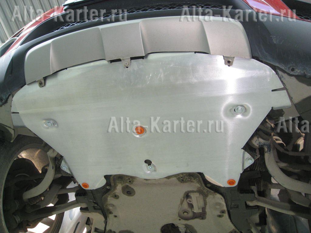 Защита Alfeco для радиатора BMW Х6 E71 xDrive 2008-2012. Артикул ALF.34.08