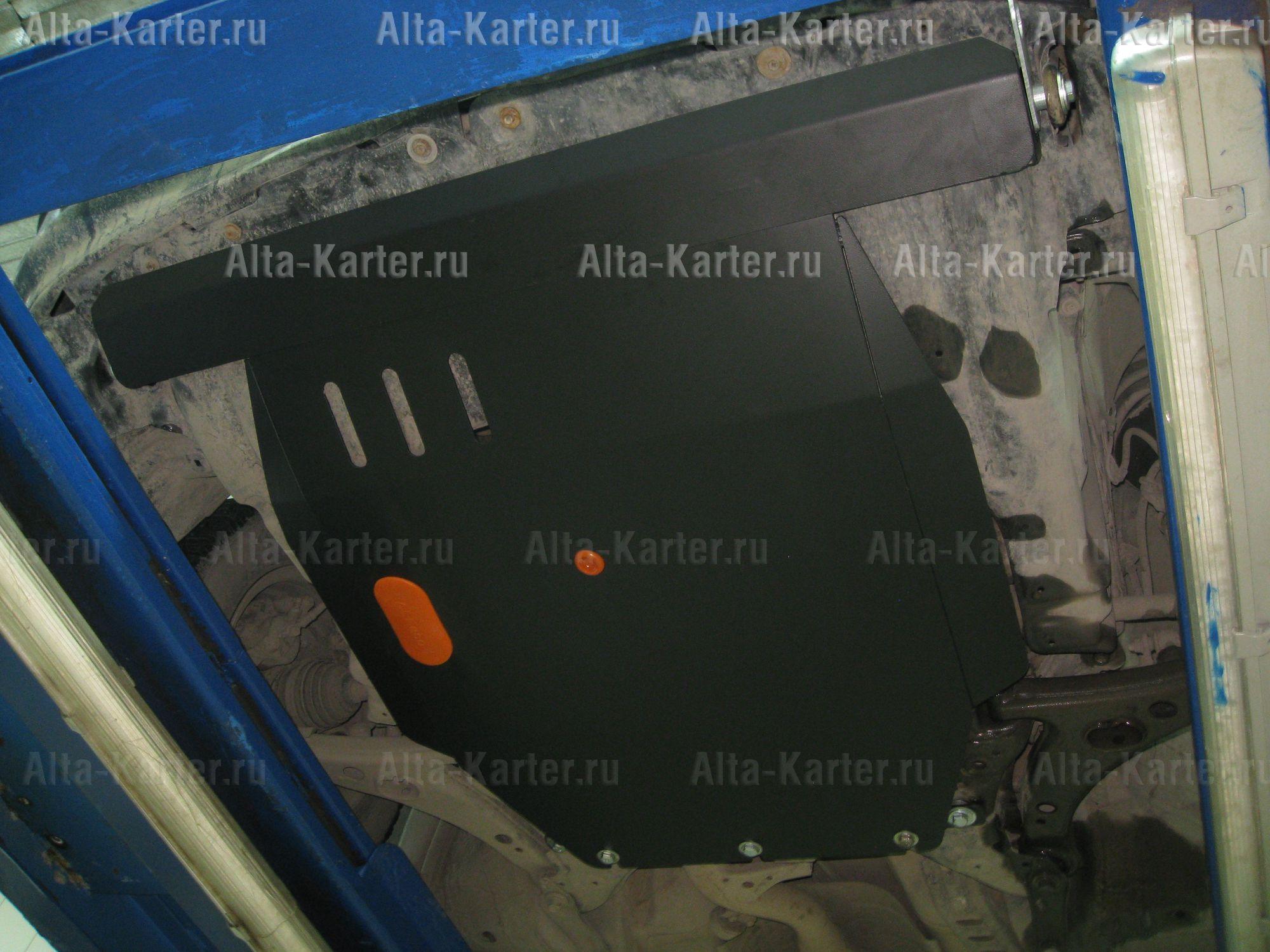 Защита Alfeco для картера и КПП Toyota Carina E T190 1992-1998. Артикул ALF.24.37