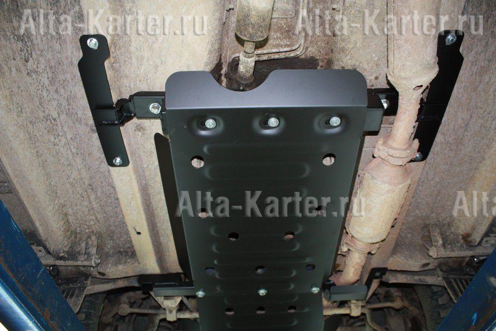 Защита Alfeco для раздатки ВАЗ 21214-10 Нива 2002-2006. Артикул ALF.28.17