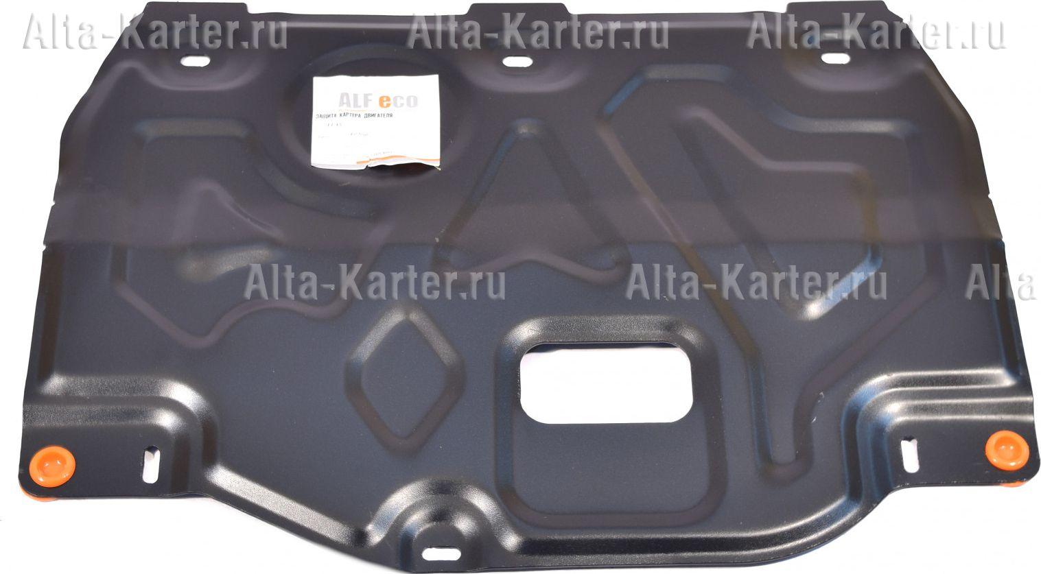 Защита Alfeco для картера и КПП Kia Soul III 2019-2021. Артикул ALF.11.45