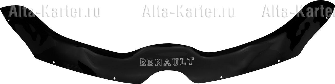 Дефлектор REIN (евро крепеж) для капота Renault Kaptur 2016 по наст. вр.. Артикул REINHD804