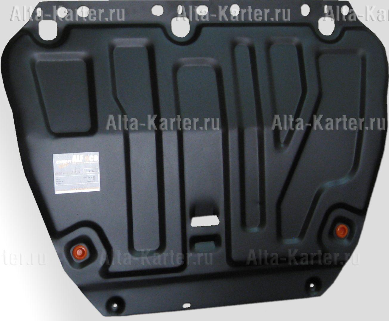 Защита Alfeco для картера и КПП Ford Focus III 2011-2019. Артикул ALF.07.26 st