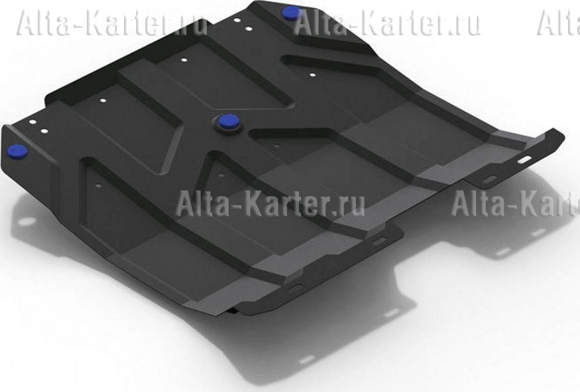 Защита Rival для картера и КПП Chery Tiggo 5 I, I рестайлинг FWD 2014-2021. Артикул 111.0917.1