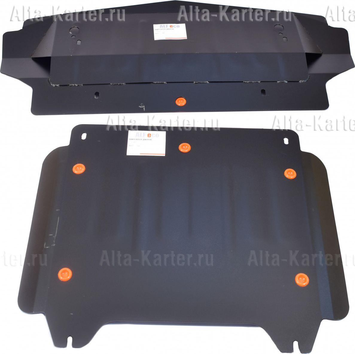 Защита Alfeco для картера Cadillac SRX I 2004-2010. Артикул ALF.37.03