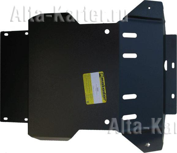 Защита Мотодор для радиатора Hino 300 XZU433, XZU423 2010-2011. Артикул 23301