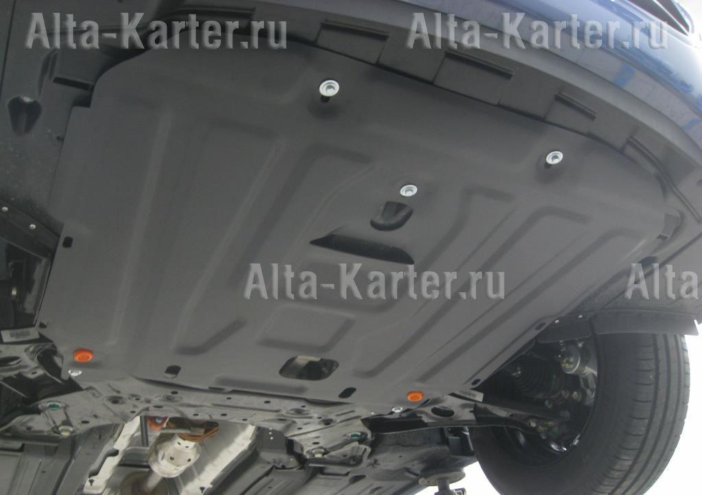 Защита Alfeco для картера и КПП Kia Cerato III Classic 2016-2021. Артикул ALF.11.32 st