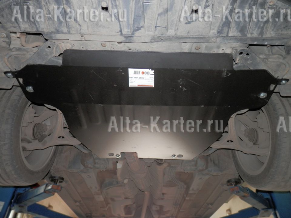 Защита Alfeco для картера и КПП Honda Accord VII 2002-2008. Артикул ALF.09.10