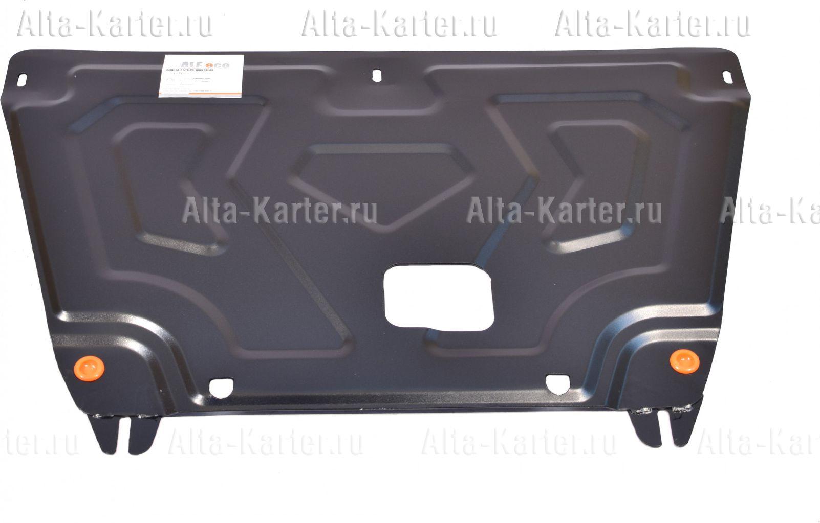 Защита Alfeco для картера и КПП Hyundai Creta (установка на штатные точки) 2016-2021. Артикул ALF.10.51