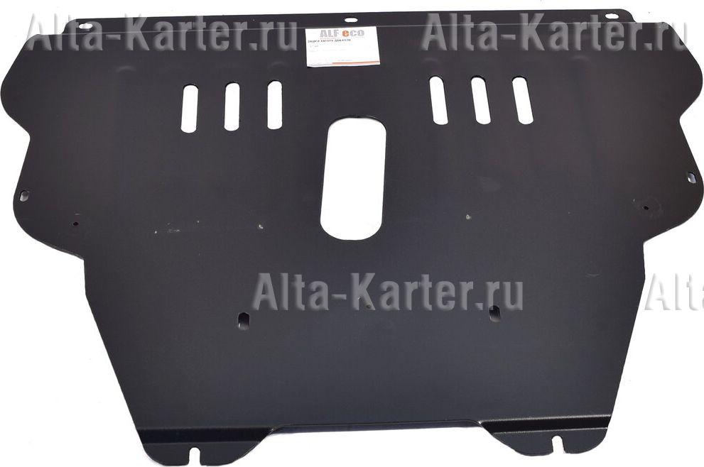 Защита Alfeco для картера и КПП Peugeot Partner II (Tepee) 2008-2021. Артикул ALF.17.10