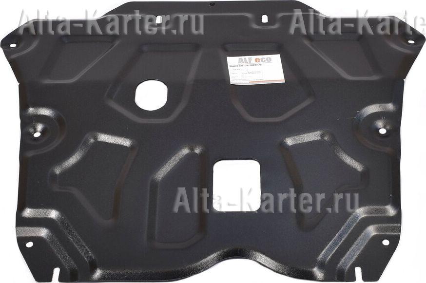 Защита Alfeco для картера и КПП Nissan Terrano III 2014-2021. Артикул ALF.18.09