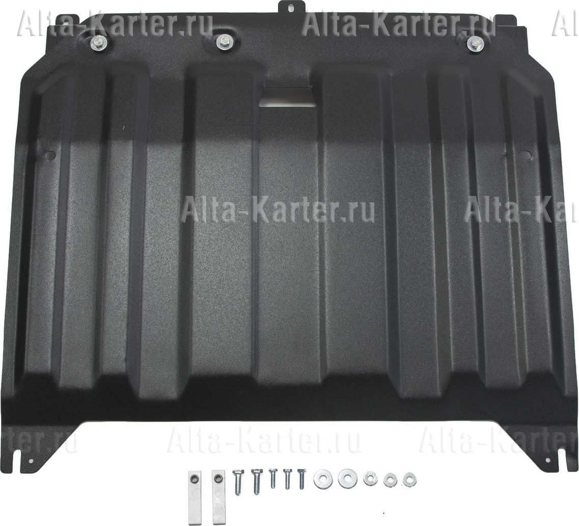Защита AutoMax картера и КПП для Hyundai i30 II рестайлинг 2015-2017. Артикул AM.2836.1