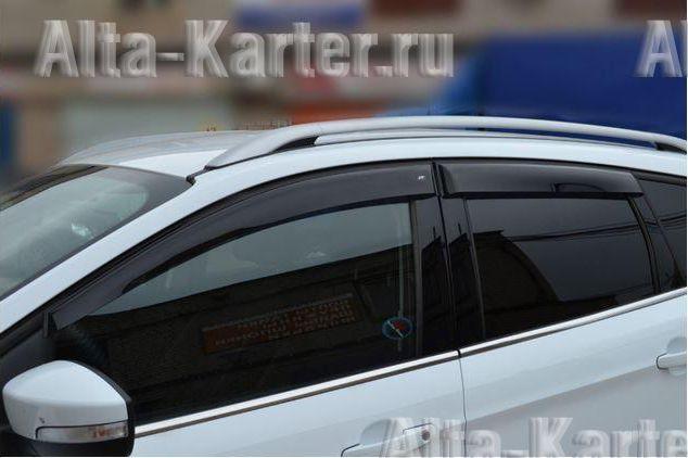 Дефлекторы Cobra Tuning EuroStandart для окон Ford Kuga II 2013 по наст. вр.. Артикул FE33413