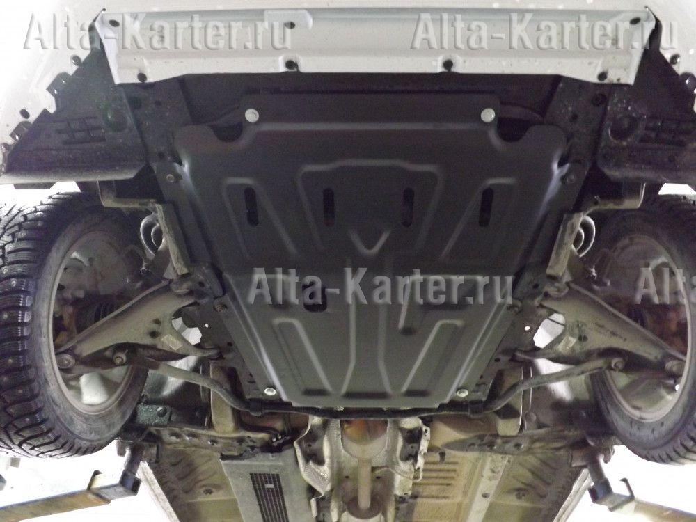 Защита Alfeco для картера и МКПП Lada Largus 2012-2021. Артикул ALF.28.15 st