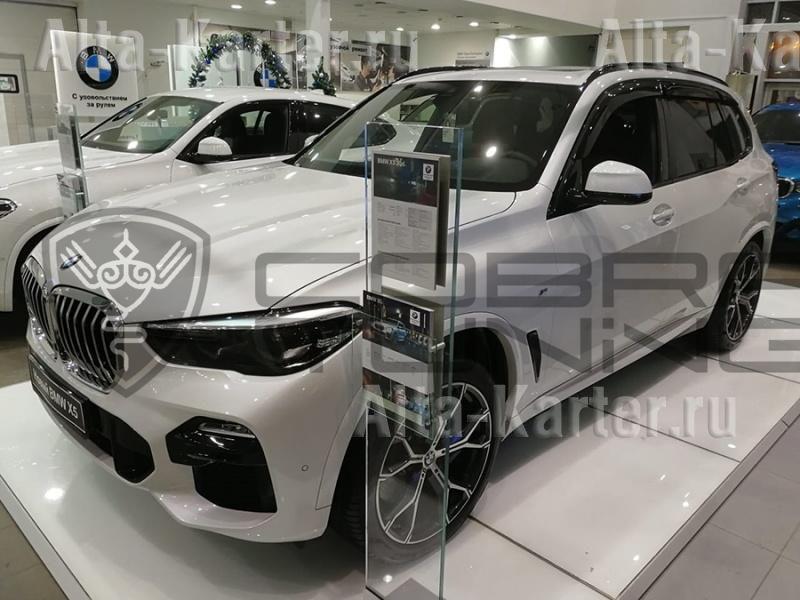 Дефлекторы Cobra Tuning для окон BMW X5 G05 2018 по наст. вр.. Артикул B25318