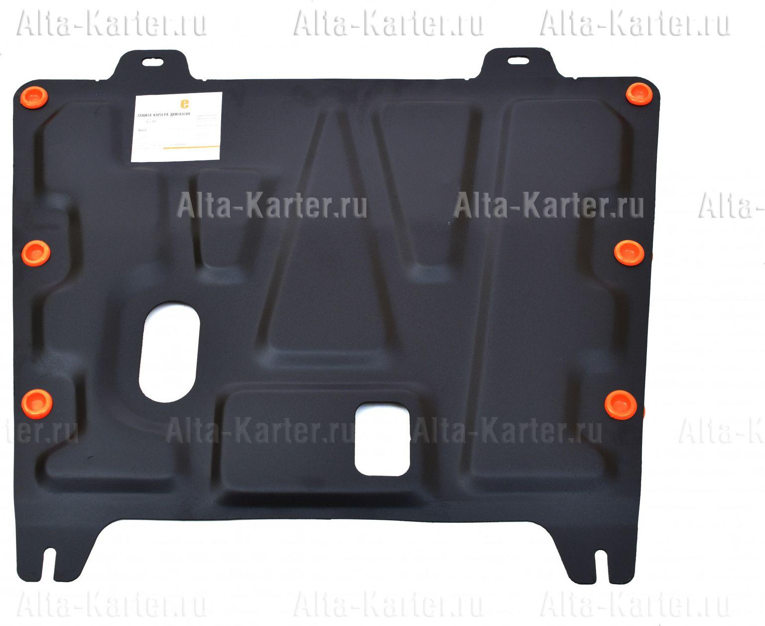 Защита Alfeco для картера и КПП Nissan Dualis I 2007-2014. Артикул ALF.15.11