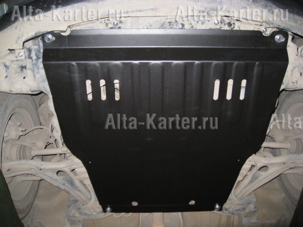 Защита Alfeco для картера и КПП Toyota BB 2000-2005. Артикул ALF.24.50