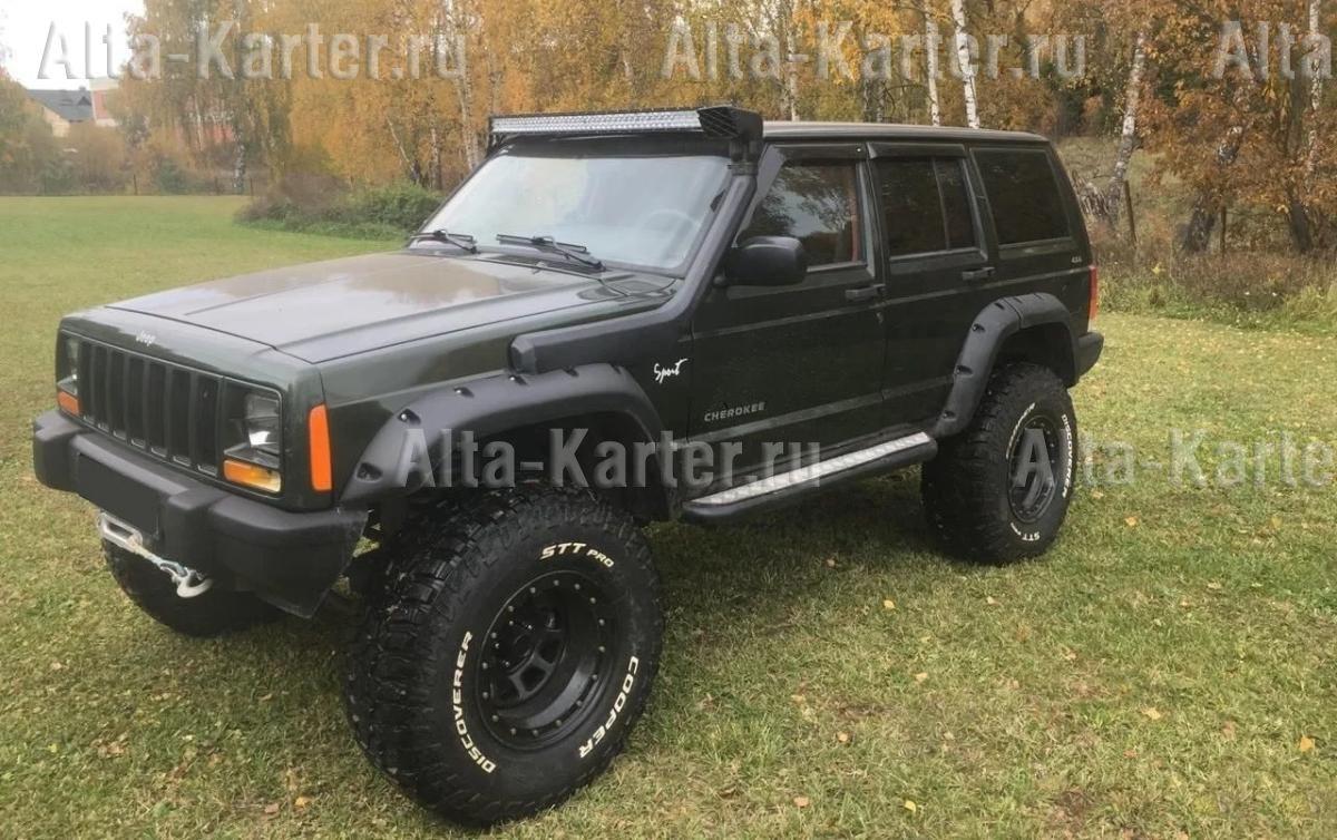Дефлекторы Cobra Tuning для окон Jeep Cherokee XJ 1984-2001. Артикул J10584