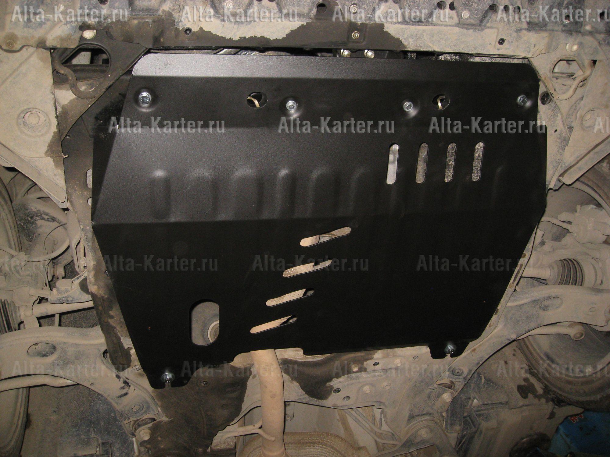 Защита Alfeco для картера и КПП Suzuki Kizashi 2WD 2009-2014. Артикул ALF.23.20