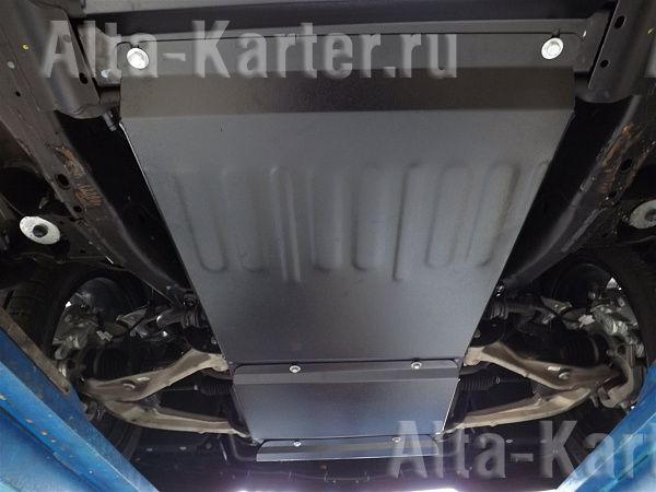 Защита Alfeco для КПП Cadillac Escalade IV 2014-2021. Артикул ALF.37.07