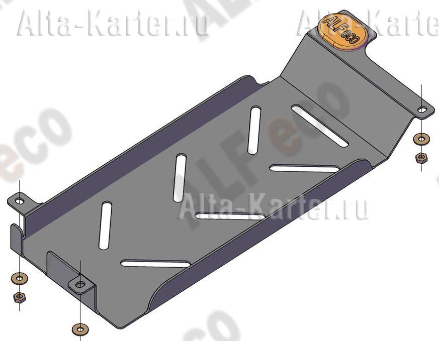 Защита Alfeco для радиатора ДТ Ford S-Max 2006-2015. Артикул ALF.07.25