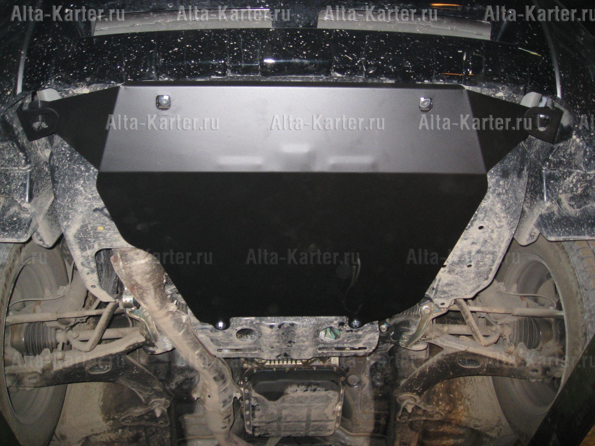 Защита Alfeco для картера (большая) Subaru Forester III 2008-2012. Артикул ALF.22.18