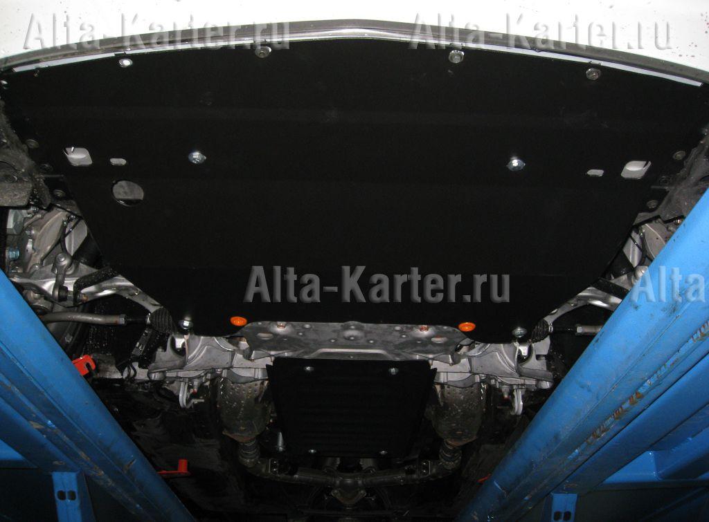 Защита Alfeco для картера Infiniti G 25 седан 2011-2015. Артикул ALF.29.11