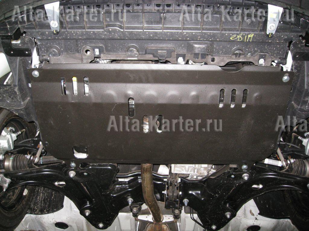 Защита Alfeco для картера и КПП Citroen С3 2009-2016. Артикул ALF.04.09