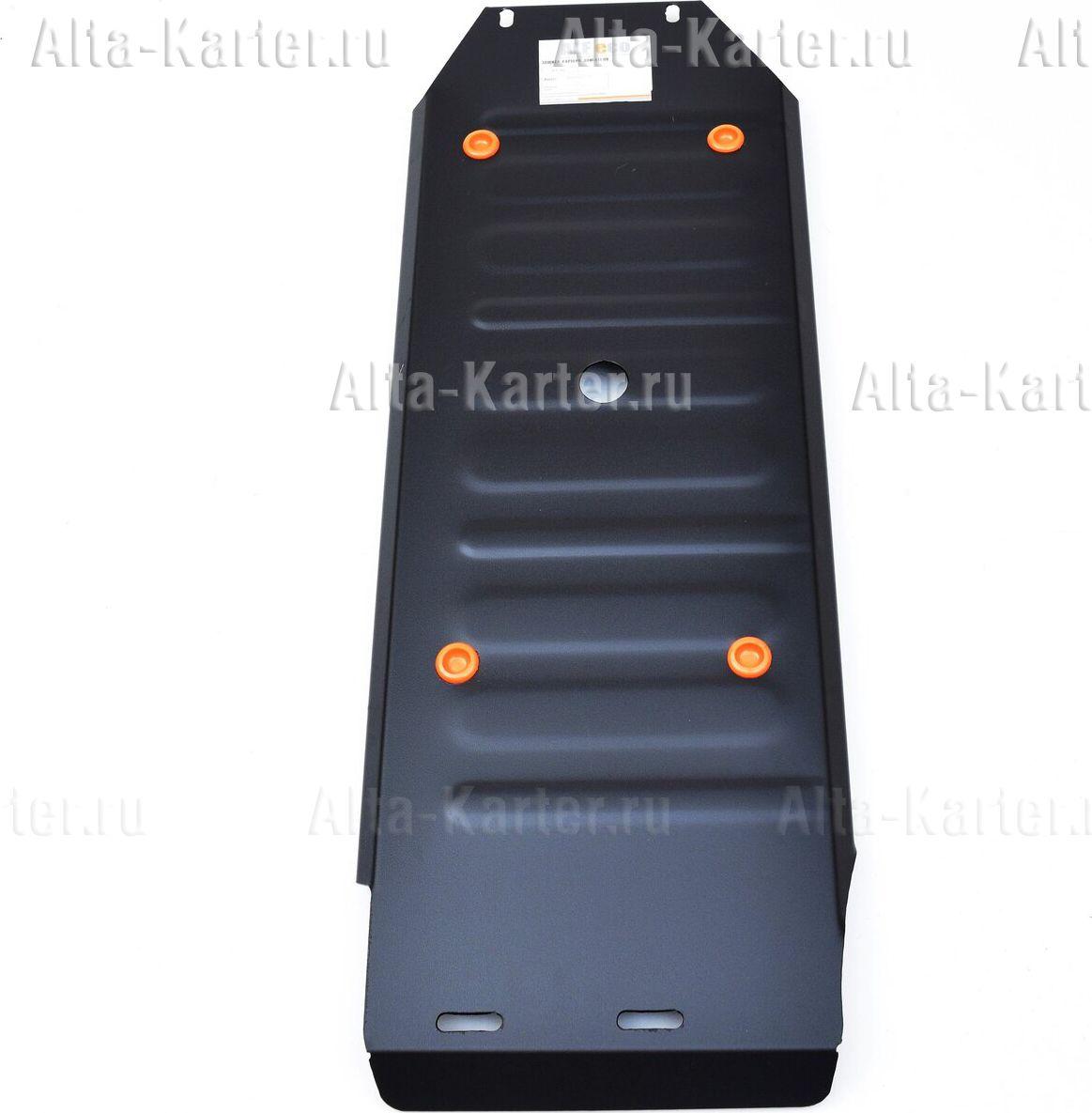Защита Alfeco для топливного бака Mitsubishi L200 V 2015-2021. Артикул ALF.14.46