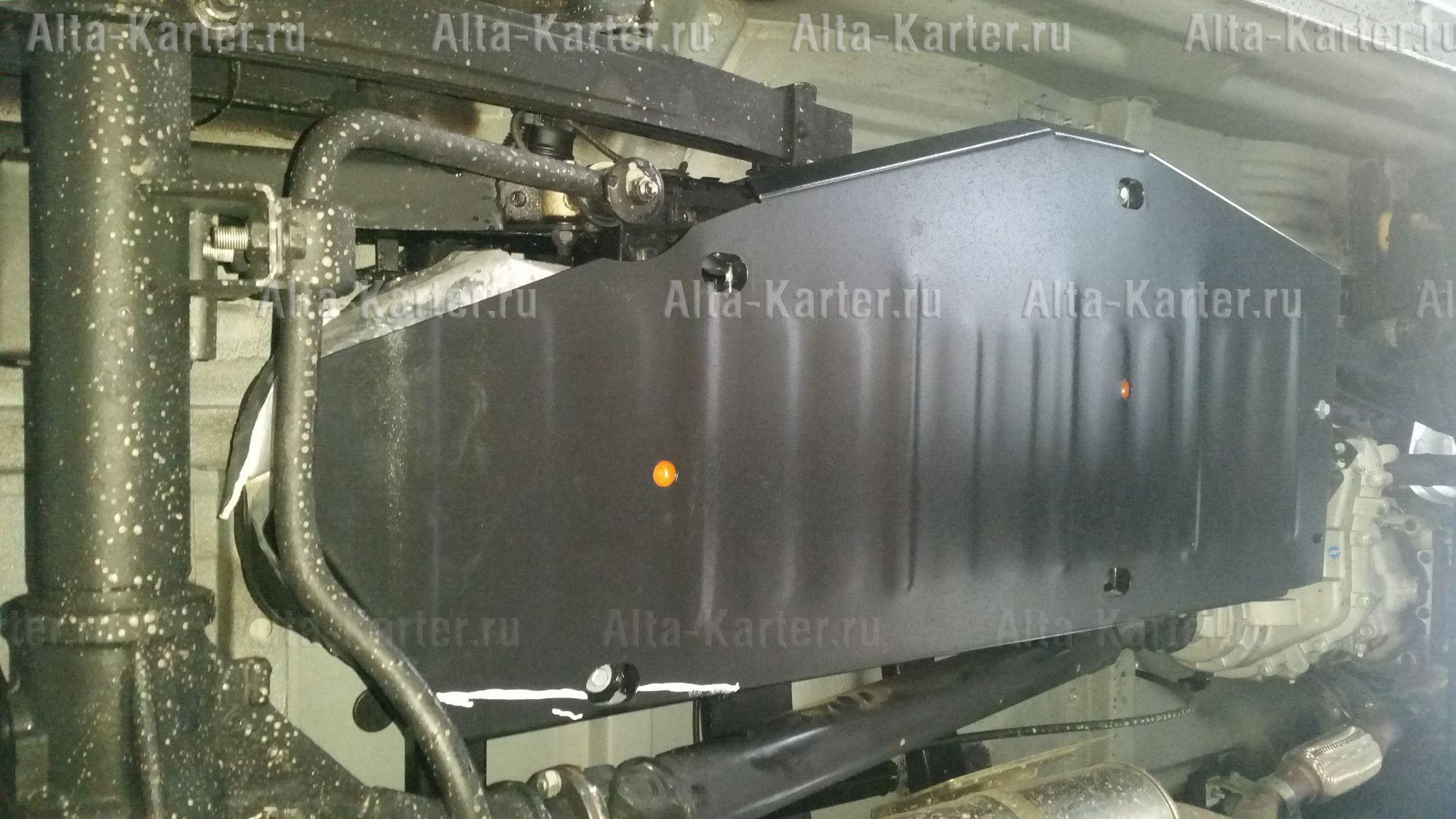 Защита Alfeco для топливного бака УАЗ Патриот I 2016-2021. Артикул ALF.39.12