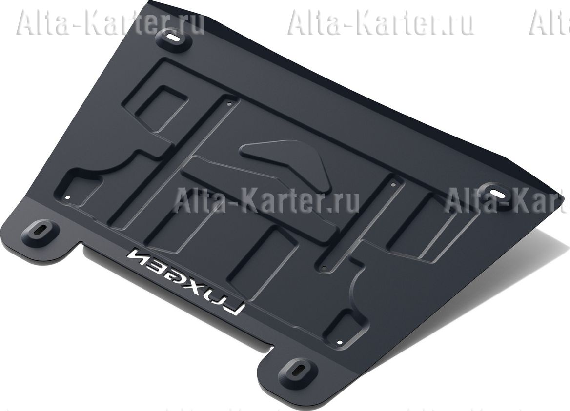 Защита АвтоБРОНЯ для картера и КПП Luxgen Luxgen 7 SUV 2013-2015. Артикул 111.08801.1