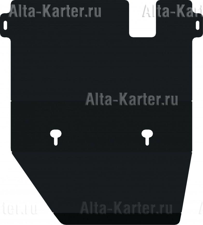 Защита Alfeco для картера и КПП Toyota Land Cruiser 80 1990-1997. Артикул ALF.24.82
