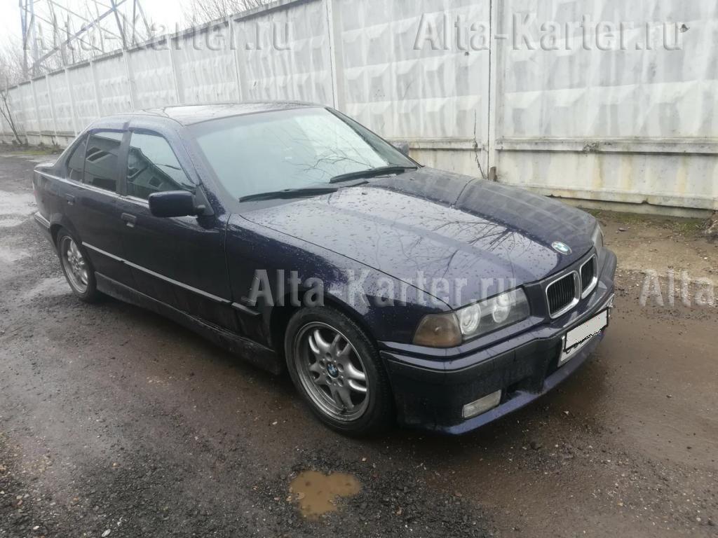 Дефлекторы Cobra Tuning для окон BMW 3 E36 седан 1991-1998. Артикул B21490
