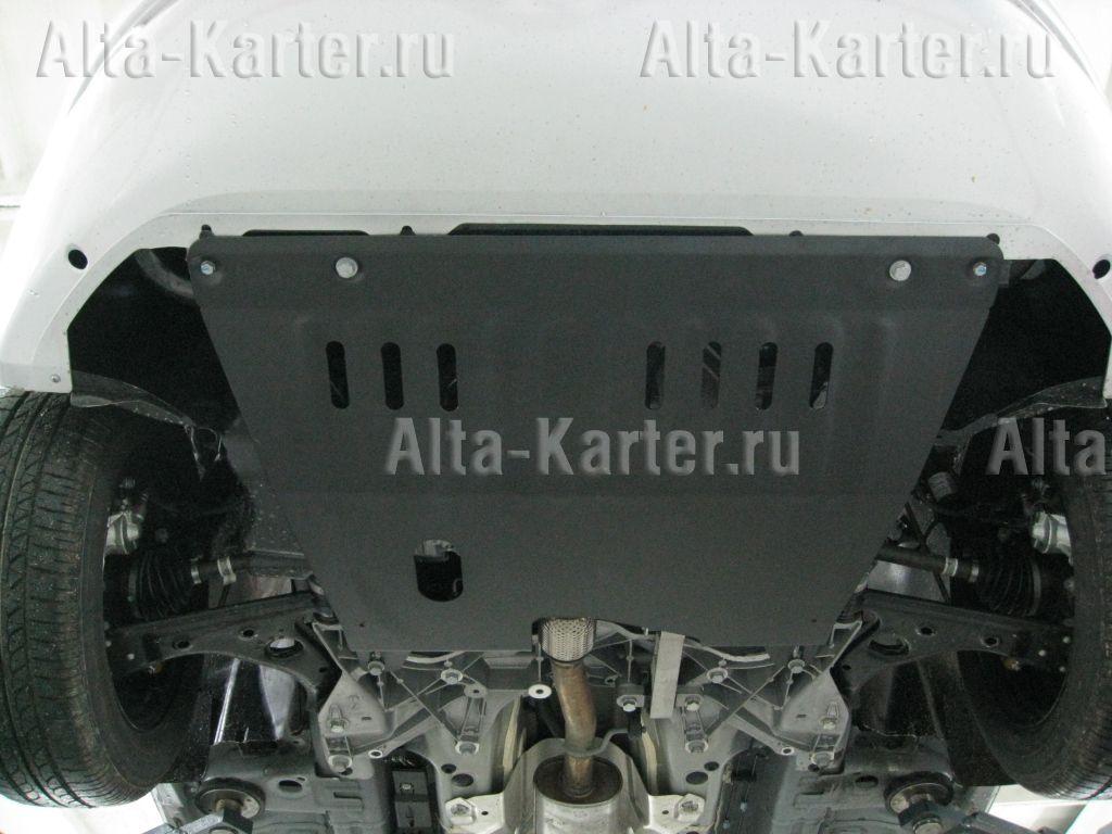 Защита Alfeco для картера и КПП Fiat Linea 2007-2015. Артикул ALF.06.06
