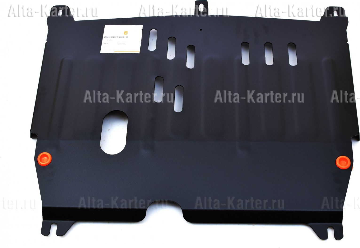 Защита Alfeco для картера и КПП Toyota Aygo I 2005-2014. Артикул ALF.17.01