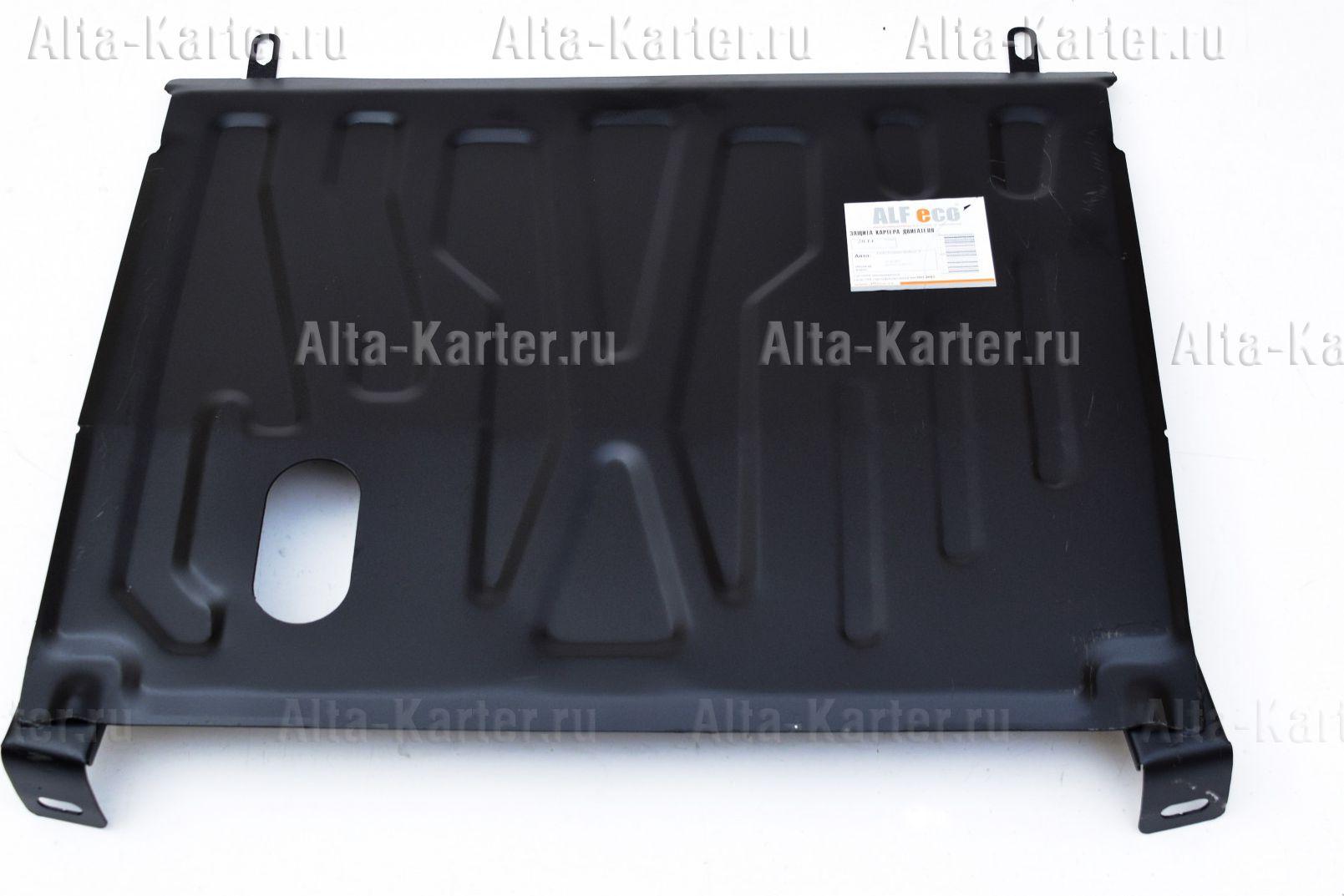 Защита Alfeco для картера и КПП Lada Kalina I 2005-2013. Артикул ALF.28.080st