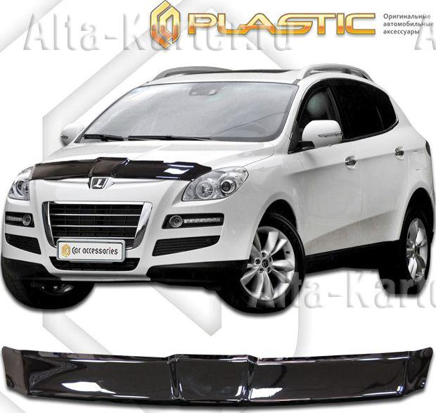 Дефлектор СА Пластик для капота (Classic черный) для Luxgen 7 SUV 2013 по наст. вр.. Артикул 2010010111144